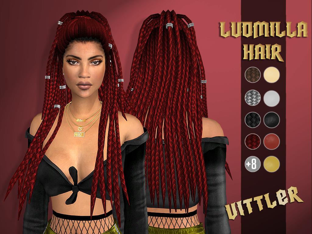ludmilla hair