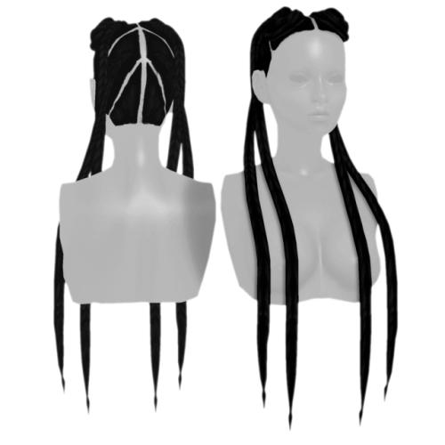 PARADINHA-Hair-for-The-Sims-4